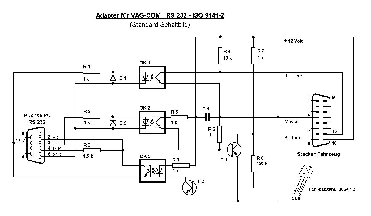 K-line адаптер на ftdi схема